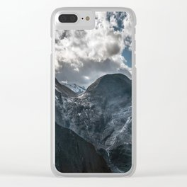 Postcard from Alps Clear iPhone Case