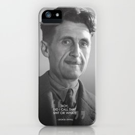Boy, did i call tat S***T or What? iPhone Case