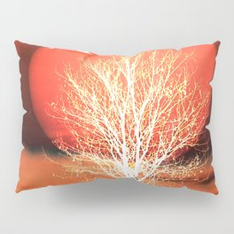 Sun in red Pillow Sham