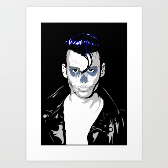 Day of the Depp Art Print