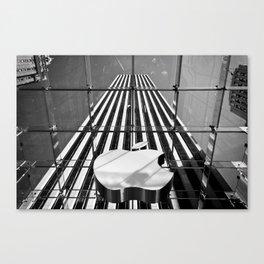 Big Apple - New York City   B/W Canvas Print