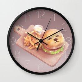 Smile Dog Burger Wall Clock