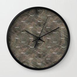 "Christian ""loved"" Wall Clock"