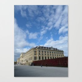 Vienna Schonbrunn Colors Canvas Print