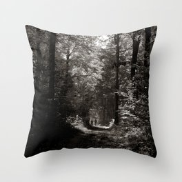 forrest II. Throw Pillow
