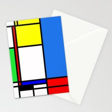 Mondrian New Stationery Cards