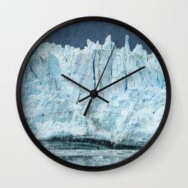 the marjorie glacier.  Wall Clock
