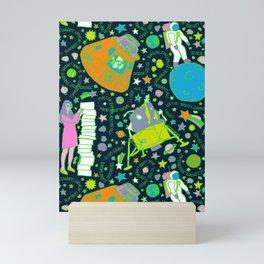 Girls Run the Universe Mini Art Print
