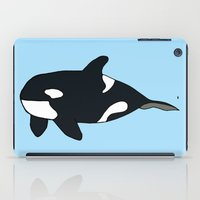 killer whale iPad Cases featuring Orca/Killer Whale by Nemki