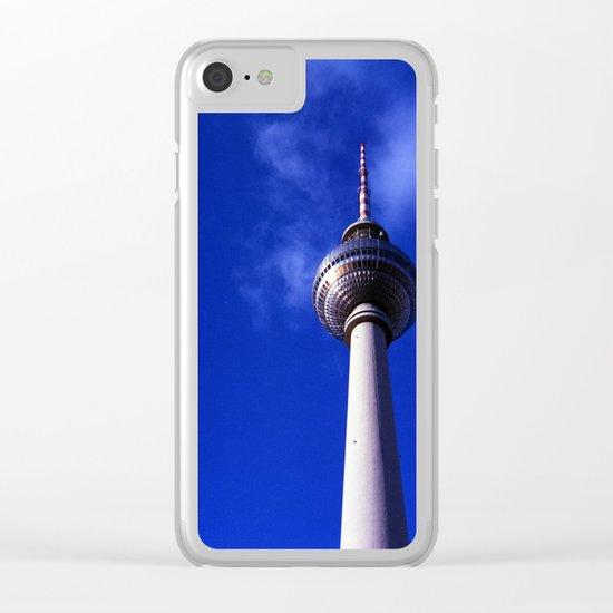 Fernsehturm de Berlín Clear iPhone Case