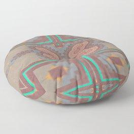 Pallid Minty Pattern 2 Floor Pillow