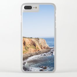 Point Vicente Lighthouse (color version) Clear iPhone Case