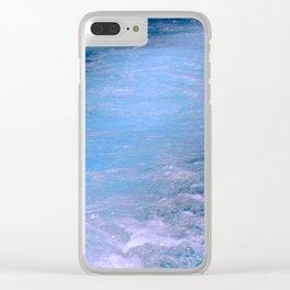 spray Clear iPhone Case