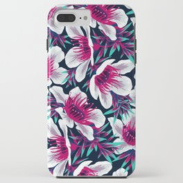 Manuka Floral Print -  Light iPhone Case