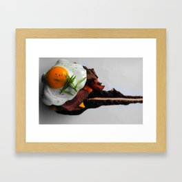 steak Framed Art Print