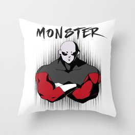 Jiren the Gray - Monster Throw Pillow