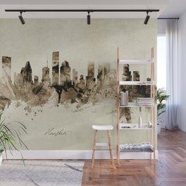 Houston Texas Skyline Wall Mural