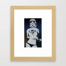 SUPERSTORM Framed Art Print