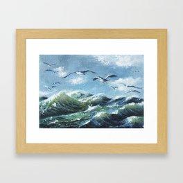 Océan Framed Art Print