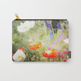 Magic Poppies Carry-All Pouch