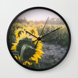Face the New Day Wall Clock