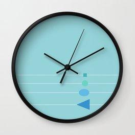 calm. Wall Clock