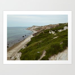 Aquinnah, Martha's Vineyard Art Print