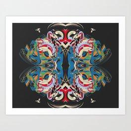 Cuentos de amor de locura y de muerte / 004 Art Print