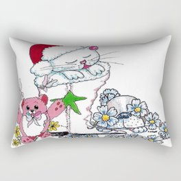 Christmas Eve Rectangular Pillow