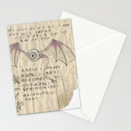 Book of Nightmares, The Observer Stationery Cards