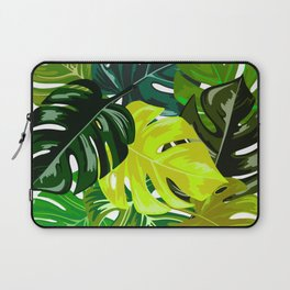 Monstera Leaves Laptop Sleeve