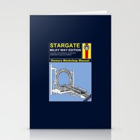stargate Stationery Cards featuring Stargate by Paul Elder