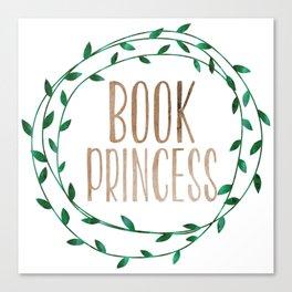 Book Princess Canvas Print