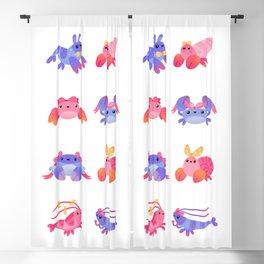 Ribbon Malacostraca Blackout Curtain