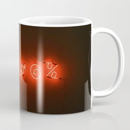 Neon Sweary (Color) Coffee Mug