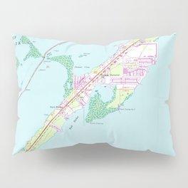 Vintage Rock Harbor Florida Map (1947) Pillow Sham