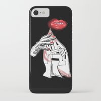 philosophy iPhone & iPod Cases featuring Disposable Philosophy by MLauxDesign