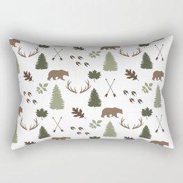 Woodland - Mist Rectangular Pillow