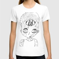 third eye T-shirts featuring Third Eye by Adam M. Snowflake