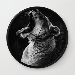 King of everything Wall Clock