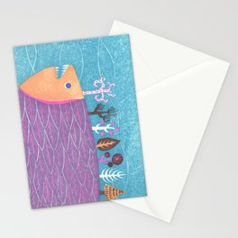 Fish Forest Stationery Cards