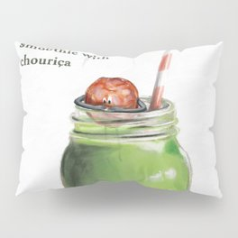La Cuisine Fusion - Smoothie with Chouriça Pillow Sham