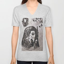 Totems Give To Us: Unisex V-Neck