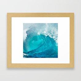 Breaking Wave Framed Art Print