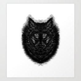 The Wolf by Brian Vegas Art Print