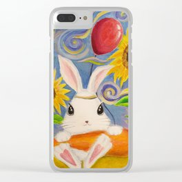 Dreamland Bunny Clear iPhone Case
