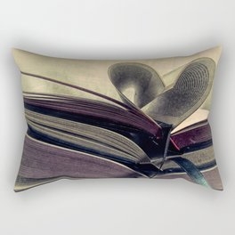 For the Love of Books A429 Rectangular Pillow