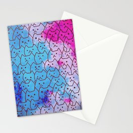 cats new color 620 Stationery Cards