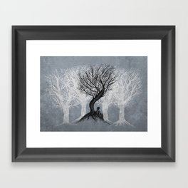Beneath the Branches Framed Art Print