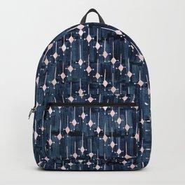 Justina Chevron Ink Backpack
